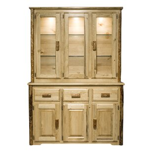 Loon Peak Tustin Lighted China Cabinet