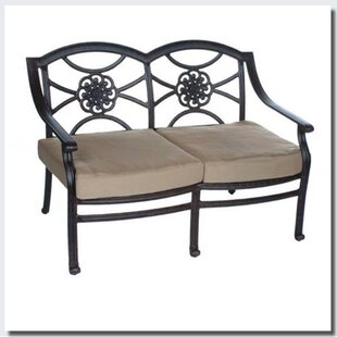 Fleur De Lis Living Ross Loveseat with Sunbrella Cushions