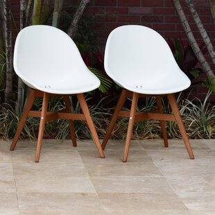 Jacinta Teak Patio Dining Chair (Set of 2)