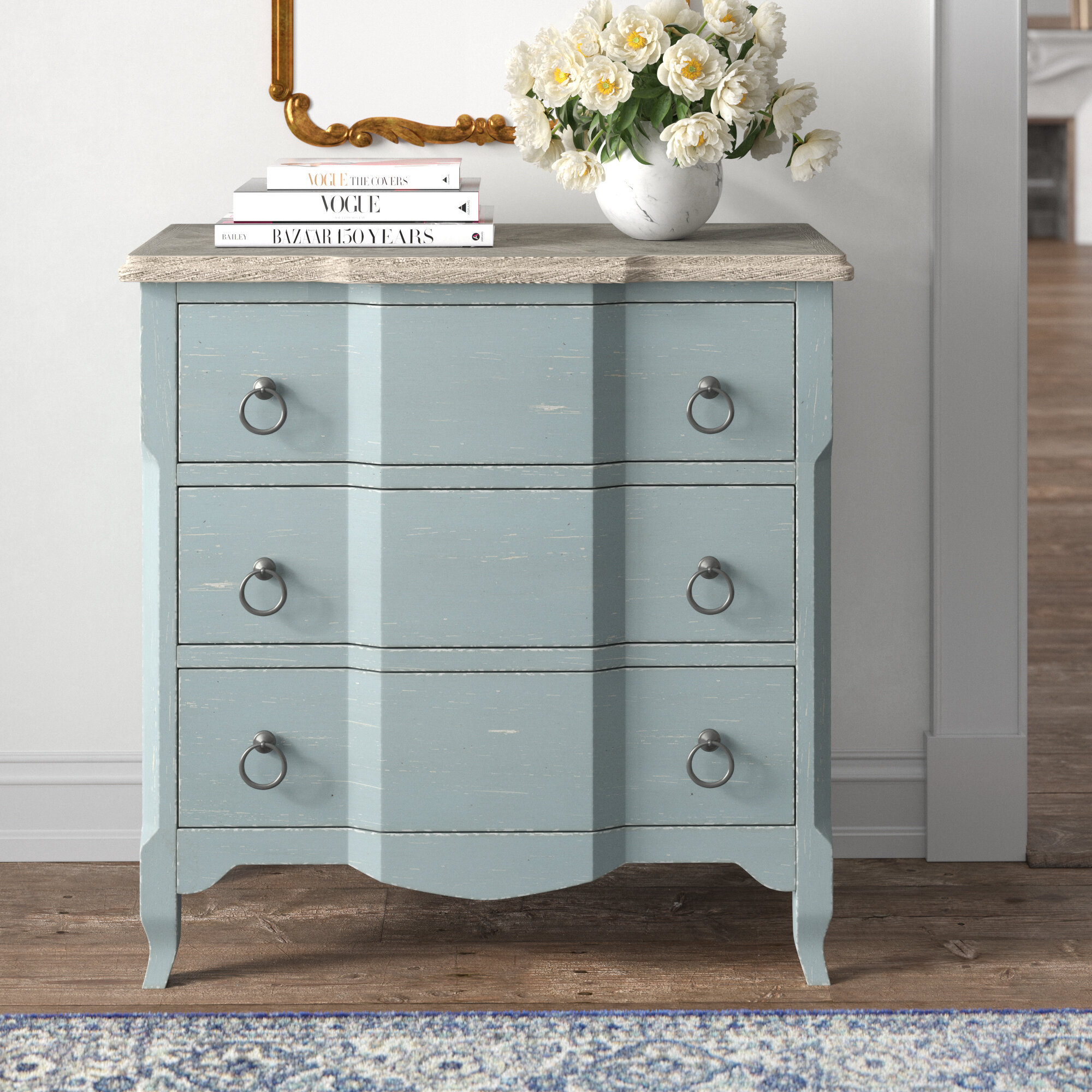 Kelly Clarkson Home Bolton 3 Drawer Accent Chest Reviews Wayfair