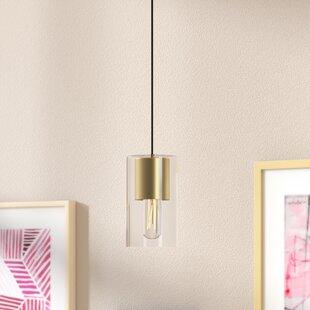 Corrigan Studio Cyrus 1-Light Cylinder Pendant