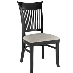 Brookwood Solid Wood Dining Chair (Set of 2) Canora Grey