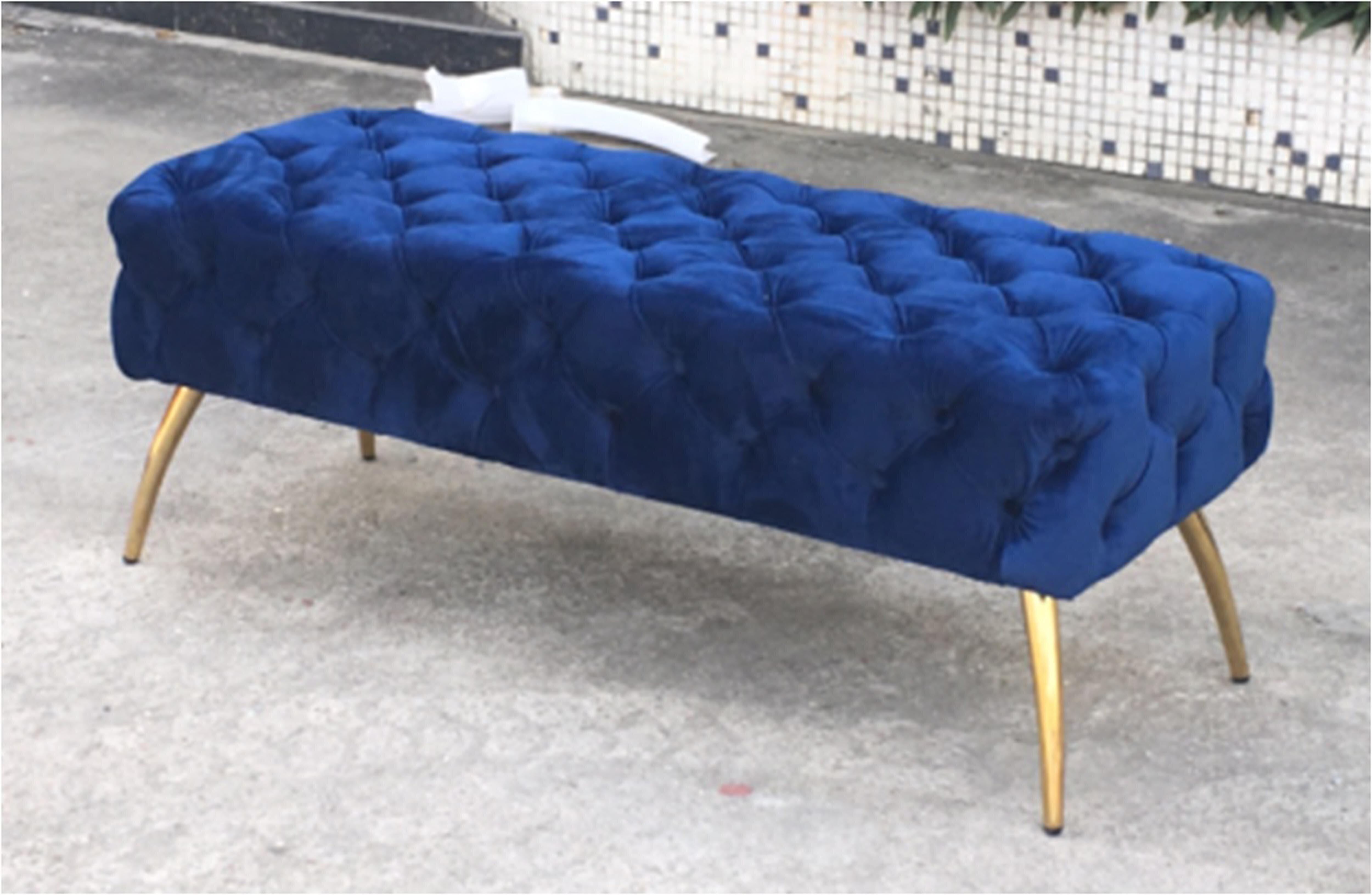 Mercer41 Centeno Button Tufted Upholstered Bench Wayfair Ca