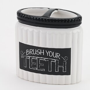 Chalk It up Toothbrush Holder By Avanti Linens