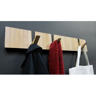 Switchboard Modular Wooden Coat Rack By Symple Stuff