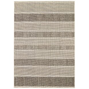 Gwen Gray/Black Indoor/Outdoor Area Rug