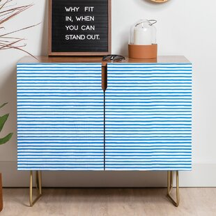 Ninola Marker Stripes Sideboard East Urban Home