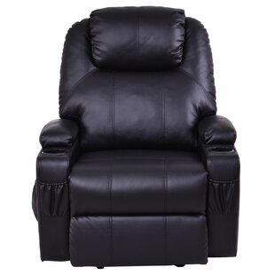 Hauge Power Lift Assist Recliner Red Barrel Studio