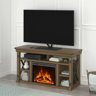 Find for Gladstone TV Stand for TVs up to 55 with Fireplace by Laurel Foundry Modern Farmhouse Reviews (2019) & Buyer's Guide