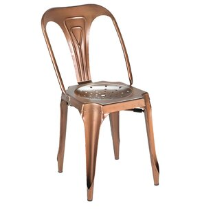 17 Stories Dhruv Tolix Dining Chair (Set ..