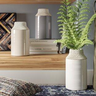 Baldric Ceramic Table Vase (Set of 3)