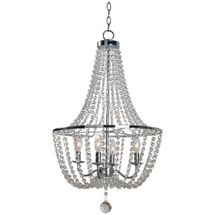 Willa Arlo Interiors Andreana 4-Light Empire Chandelier