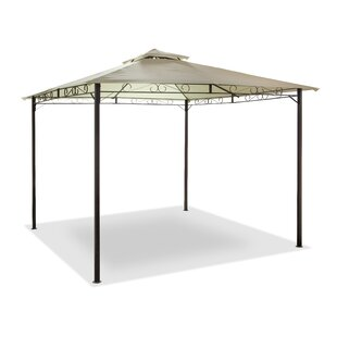 SunTime Outdoor Living 9.8 Ft. W x 9.8 Ft. D Aluminum Patio Gazebo