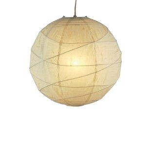 Daughtry 1-Light Pendant by Ebern Designs