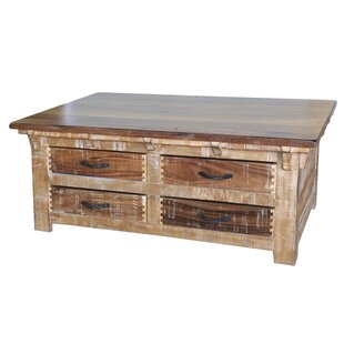 Robison Coffee Table with 8 Drawer
