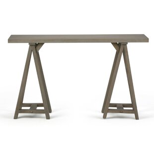 Online Reviews Sawhorse Console Table By Simpli Home