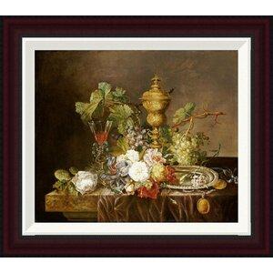 D co murale pour salle manger plantes et fleurs roses for Decoration murale wayfair