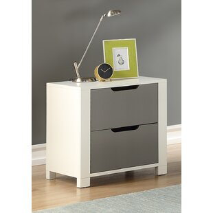 Claiborne 2 Drawer Nightstand by Isabelle & Max