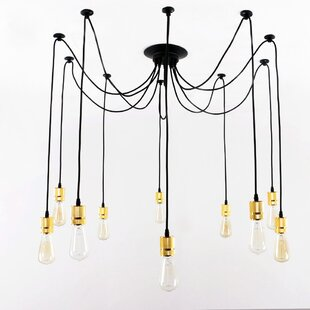 10-Light Cluster Pendant b..