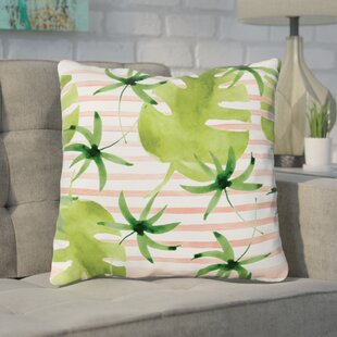 Tonnele Palm Throw Pillow