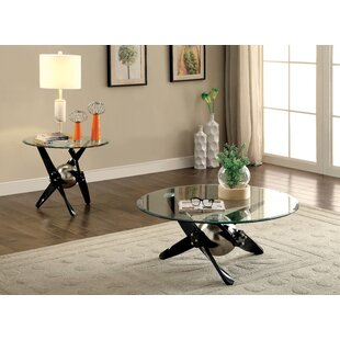 Colmont Contemporary 2 Piece Coffee Table Set 17 Stories