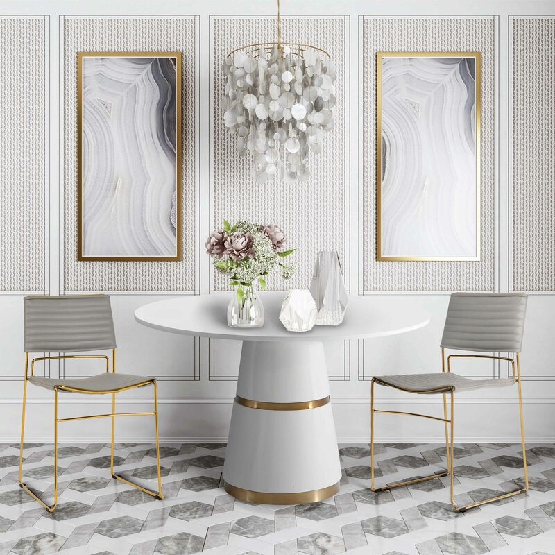 New Stunning Modern Contemporary Kenzo Dining Chair In 4 Colours