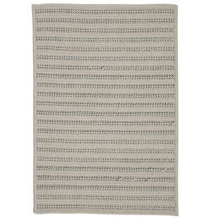 Tidewater Reversible Hand-Woven Natural Indoor/Outdoor Area Rug ByRosecliff Heights