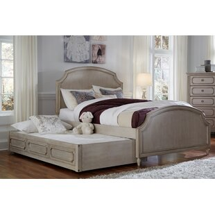 One Allium Way Alaina Complete Arched Panel Bed with Drawers