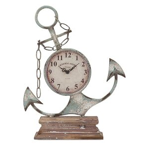 Anchor Table Clock
