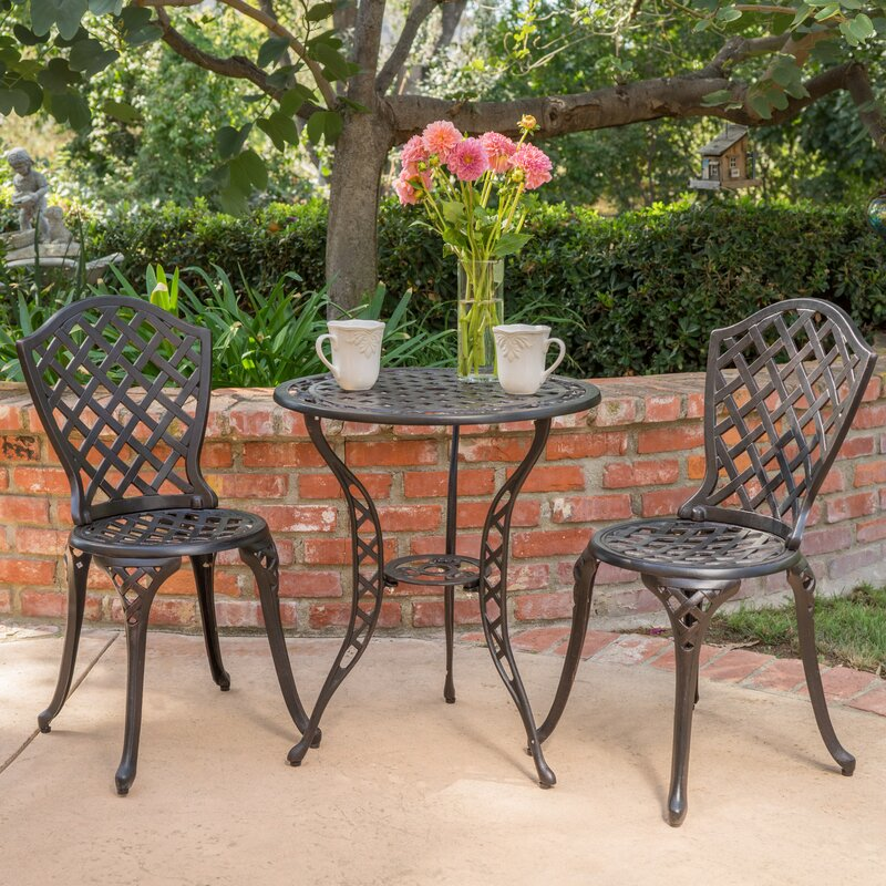 Gringt 3 Piece Bistro Set Reviews