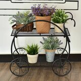 Bobby Flower Cart Multi-Tiered Plant Stand by Ophelia & Co.