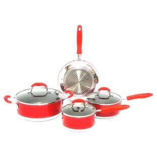 Gourmet Chef Non-Stick 7 Piece Cookware Set By Gourmet Chef