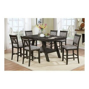 Molina Transtional 7 Piece Pub Table Set Winston Porter