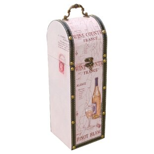 Accomac 1 Bottle Tabletop Wine Rack By Lily Manor