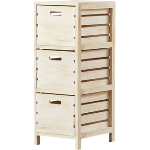 August Grove Ronning 3 Drawer Chest