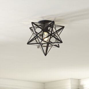 Laurel Foundry Modern Farmhouse Nikki 1-Light Star Flush Mount