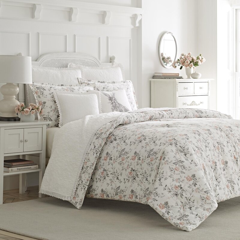 Laura Ashley Home Rosalie Piece Cotton Duvet Set By Laura - Laura ashley bedroom