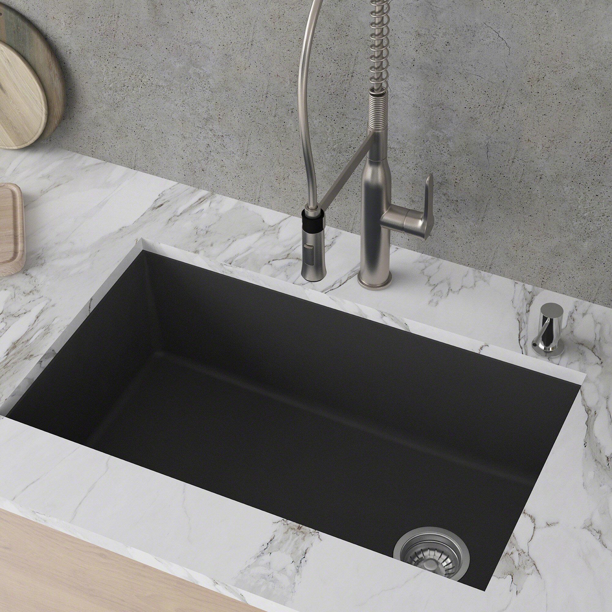 Kraus Forteza Kraus 32 L X 19 W Undermount Kitchen Sink Reviews Wayfair