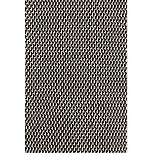 Compare Two-Tone Rope Hand-Woven Black/White Indoor/Outdoor Area Rug By Dash and Albert Rugs