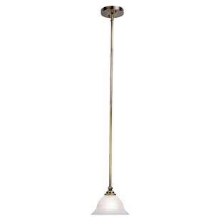 Alcott Hill Brunette 1-Light Cone Pendant
