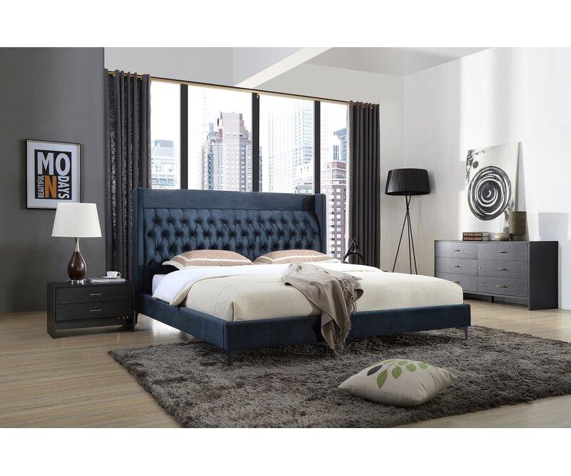 Walnut 3 Piece Bedroom Furniture Mirror Soft Close REFLECT High Gloss Black