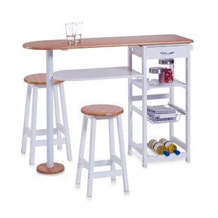 Bar Set With Wine Storage By Zeller