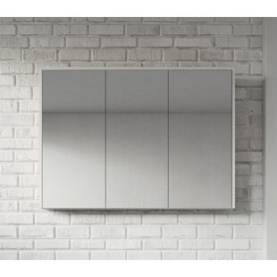 Kesington 100cm X 72cm Surface Mount Mirror Cabinet By Ebern Designs