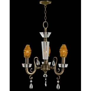 Nickerson 3-Light Candle-Style Chandelier by Astoria Grand