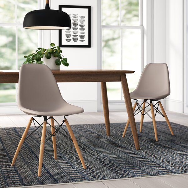 Swell Modern Contemporary Taupe Dining Chair Allmodern Pabps2019 Chair Design Images Pabps2019Com