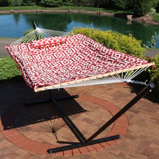 Carrollton Rope Spreader Bar Hammock with Stand by Latitude Run