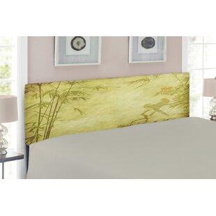Bamboo Upholstered Panel Headboard