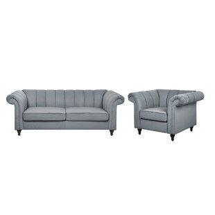 Brookhaven 2 Piece Sofa Set By Ophelia & Co.