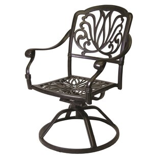 Middlebrook Swivel Patio Dining Chair (Set of 2)