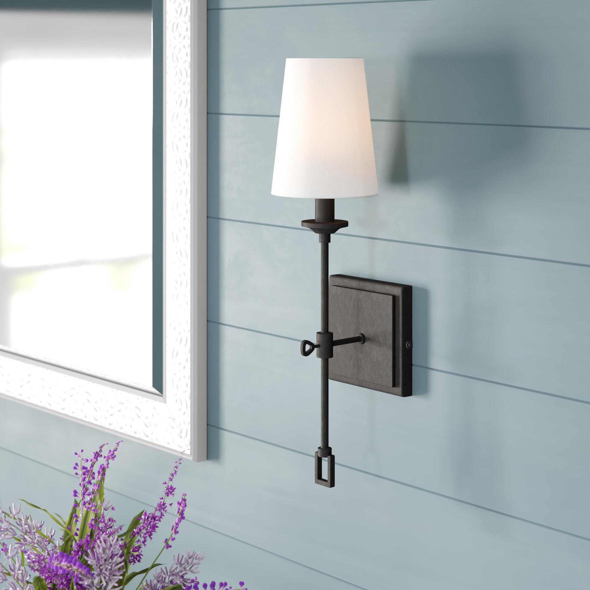 Laurel Foundry Modern Farmhouse Lorainne 1 Light Wall Sconce Reviews Wayfair